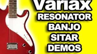 Download Amazing VARIAX Guitar ★ (Reso) Resonator, Banjo &  Sitar Demo - Funny Sounds :) MP3 song and Music Video