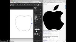 Drawing a Logo in Janvas