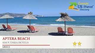 Aptera Beach - Amoudara Hotels, Greece