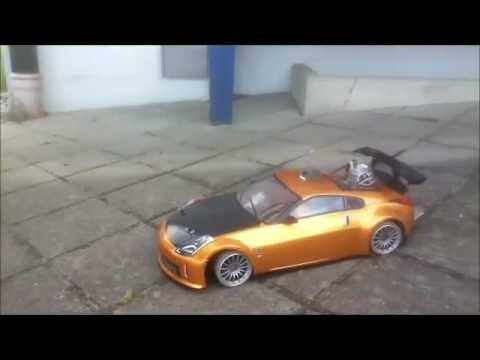 hype nissan 350z rc drift car 1 10 tamiya tt 01 mit nissan. Black Bedroom Furniture Sets. Home Design Ideas
