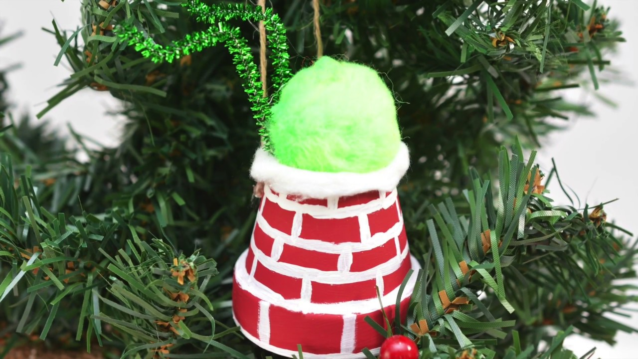 Diy Grinch Ornament Tutorial Stuck In