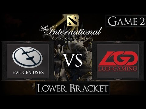 LGD vs EG - The international 2015 - LB Final - G2