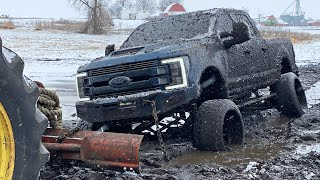Mudding the $100,000 F350 Until it's Ruined