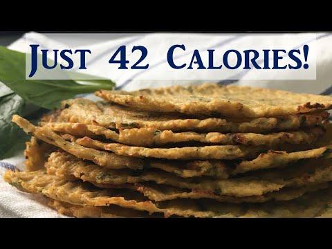 Low Carb Cauliflower Tortilla / No-Flour Tortilla Weight Loss Recipe