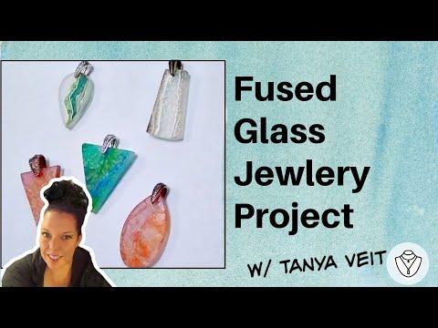 Fused Glass Jewlery Project w/ Tanya Veit