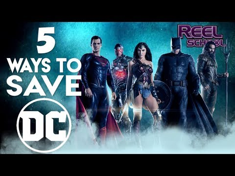 5 Ways to Save the DC Extended Universe