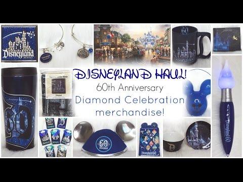 DISNEYLAND HAUL! ♡ 60th Anniversary ♡ DIAMOND CELEBRATION!