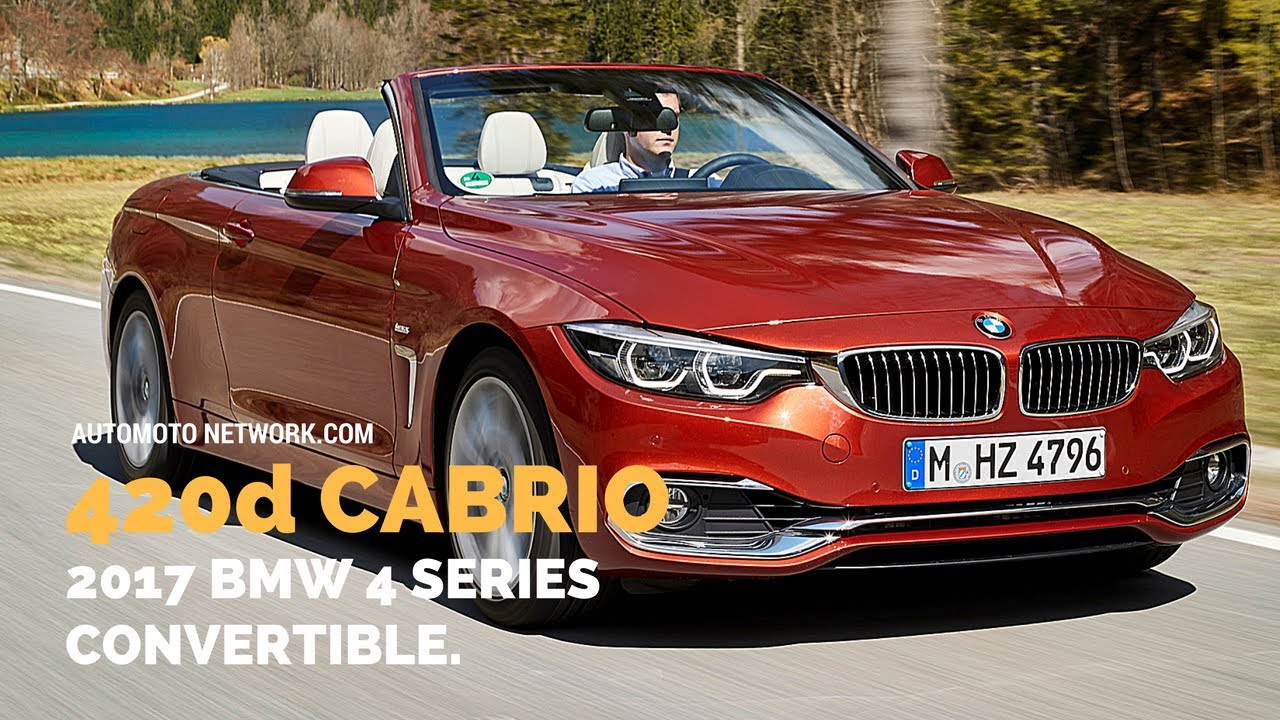 2017 bmw 420d cabriolet bmw 4er preview youtube. Black Bedroom Furniture Sets. Home Design Ideas