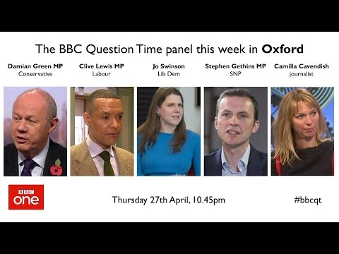 Question Time 27/4/17: May