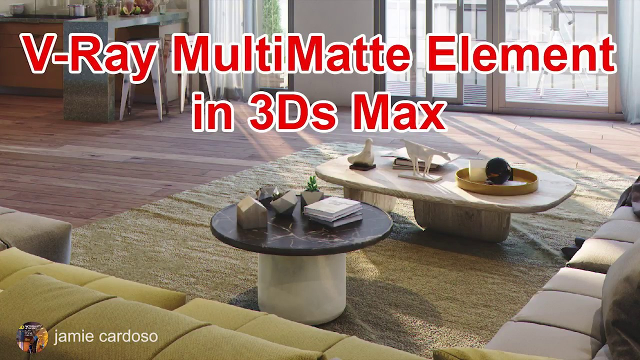 How to Work With V-Ray MultiMatte Elements - Lesterbanks