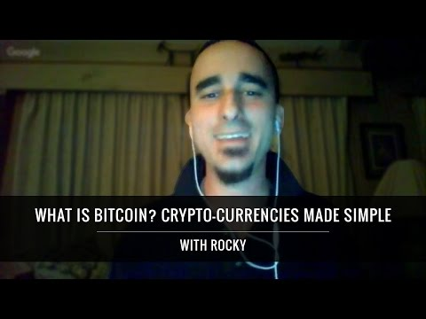 What Is Bitcoin? Crypto-Currencies Made Simple
