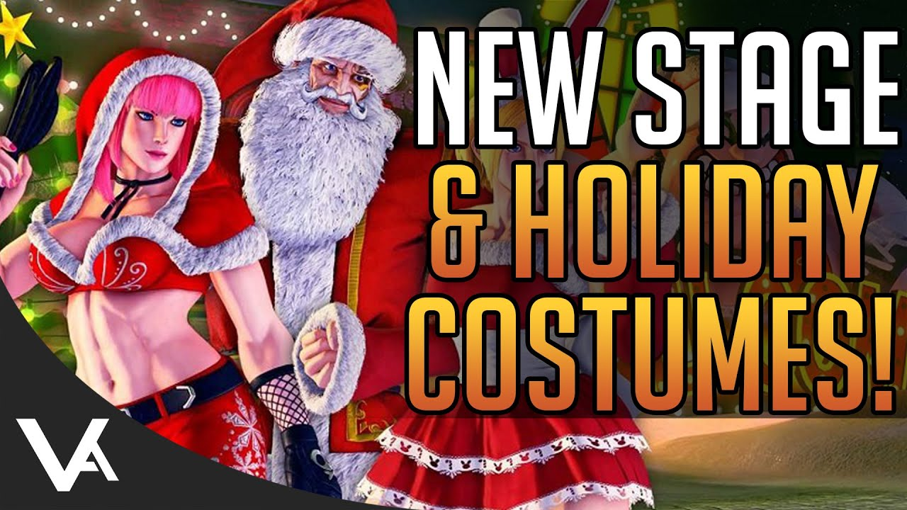 Sfv Christmas 2021 Sfv Holiday Costumes Stage New Character Announcement Soon Street Fighter 5 News Youtube