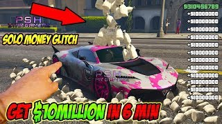 *PS4, XBOX ONE* GTA 5 ONLINE MONEY GLITCH.. Make Million$ *Unlimited Solo Money glitch 1.48*