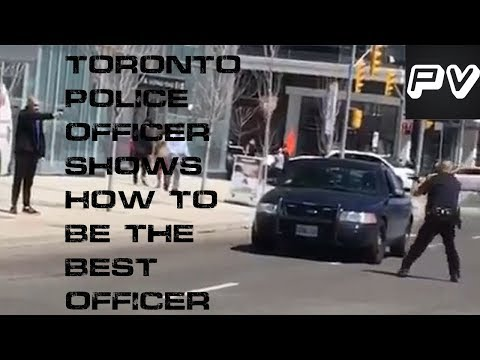 Toronto Police Officer Arrests Van Driver Without Use Of Force; What The U.S. Needs To Learn
