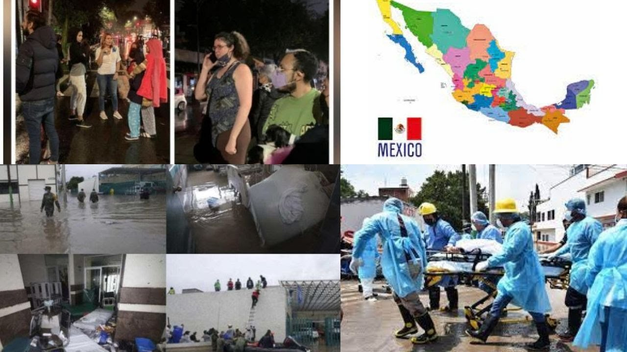 Buildings shake, people run in streets 7.0-magnitude earthquake hits Mexico