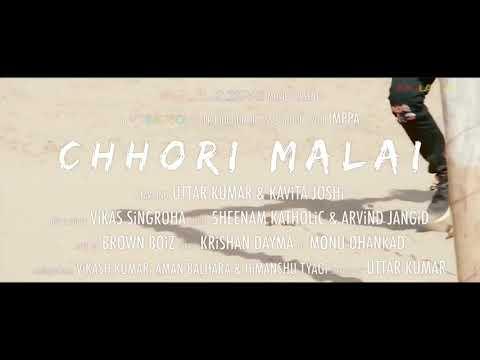 Chhori Malai Uttar Kumar Haryanvi Song Dholki Mixes  By Dj Ganesh Kashyap