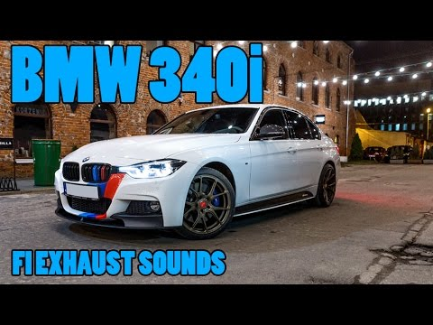 bmw m performance 340i fi catback exhaust youtube. Black Bedroom Furniture Sets. Home Design Ideas