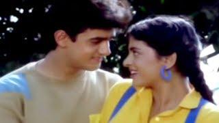 Ab Teer Chale Ya Talwar - Anuradha Paudwal, Udhit Narayan, Aamir Khan, Daulat ki Jung Song