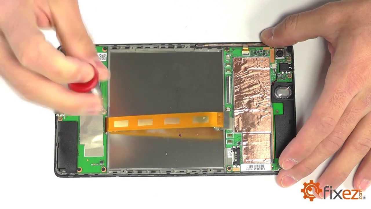 Nexus 7 (2013) Screen Repair & Disassemble