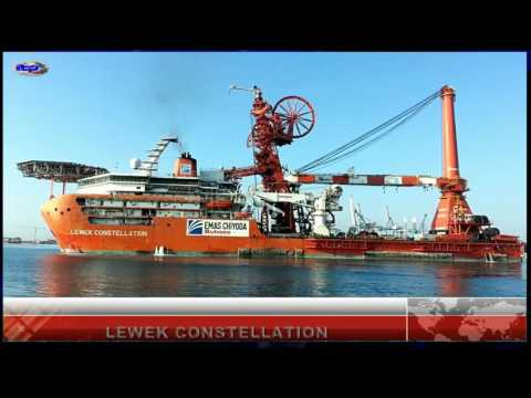 Lewek Constellation - pipelay and construction vessel
