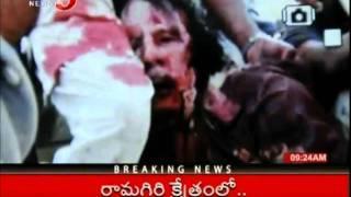 TV5 Telugu News - Barack Obama Hails End Of Tyrant Gaddafi