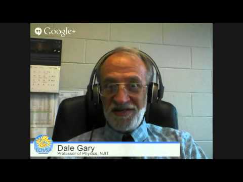 A Week of SunDays - Dr Dale Gary from the Expanded Owens Valley Solar Array (EOVSA)