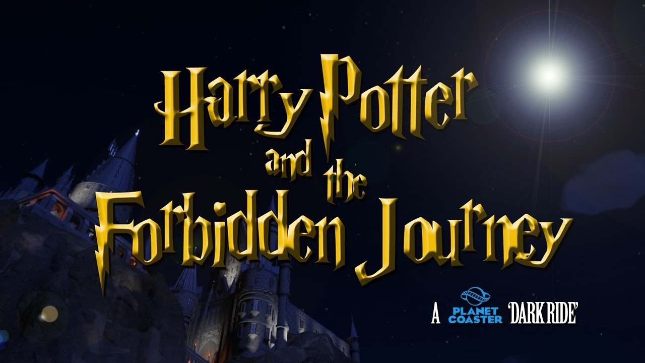 Harry Potter and the Forbidden Journey - A Planet Coaster Dark Ride
