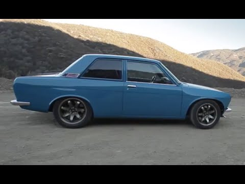 Tuned Turbocharged Datsun 510 Youtube