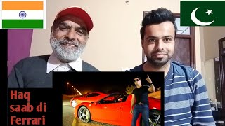 Indian react on Ferrari song!! Abrar ul haq