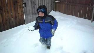 Snow Day, Abilene TX FEB 2011 pt.1