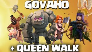 Queen Walk War Strategy Th9 | Queen Walk GoVaHo Th9 2017 | Clash Of Clans