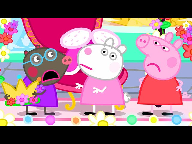 Peppa Pig Official Channel | Peppa Pig and Molly Mole, Who Should be the Queen at the Carnival?