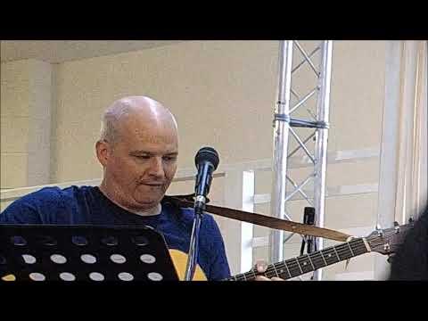 Pastor John Hayward singing great & Wonderful is the Lord
