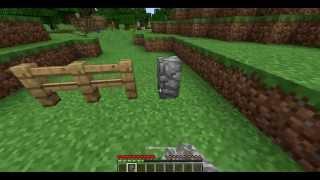 видео майнкрафт как сделать каменный забор