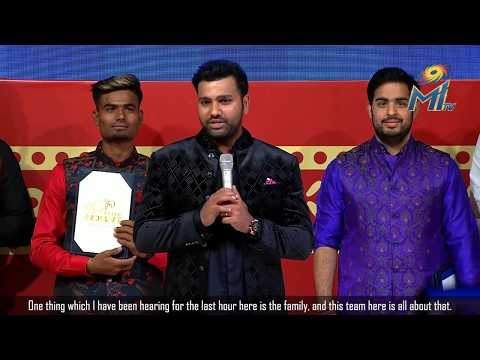 Rohit Sharma: Proud To Be Standing With The Most Successful IPL Team | MI Diwali Celebrations