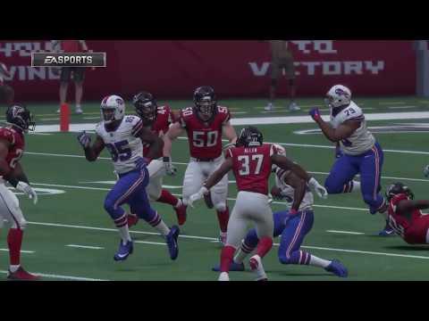 Madden 18 - Buffalo Bills vs Atlanta Falcons - Full Game Simulation Nation