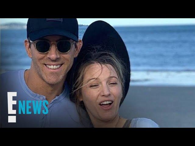 Ryan Reynolds Trolls Pregnant Wife Blake Lively on Her 32nd Birthday | E! News