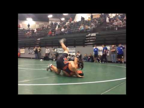 Catoosa HS 2016 2017 Wrestling Highlights