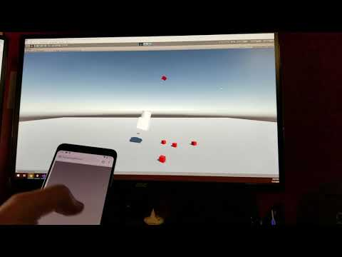 Phone As Remote Control For Unity Games