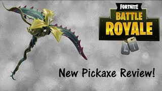 *NEW* Tendril Pickaxe and Flytrap Skins! | Tendril Pick Review | Fortnite