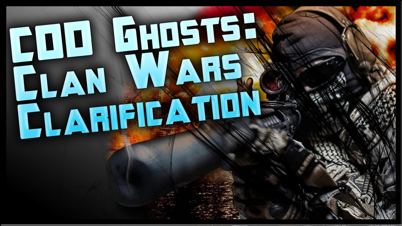 call of duty ghosts how to make a clan