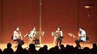 Perle Saxophone Quartet Summer concert 20 July 2011.