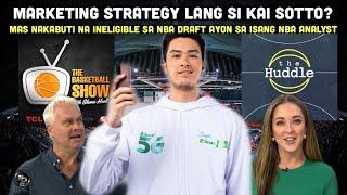 Marketing strategy daw si KAI SOTTO ayon sa isang retired Australian NBA player   NBA analyst bilib