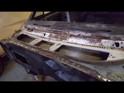 1968 GTO cowl panel removal. don't forget to Subscribe !!