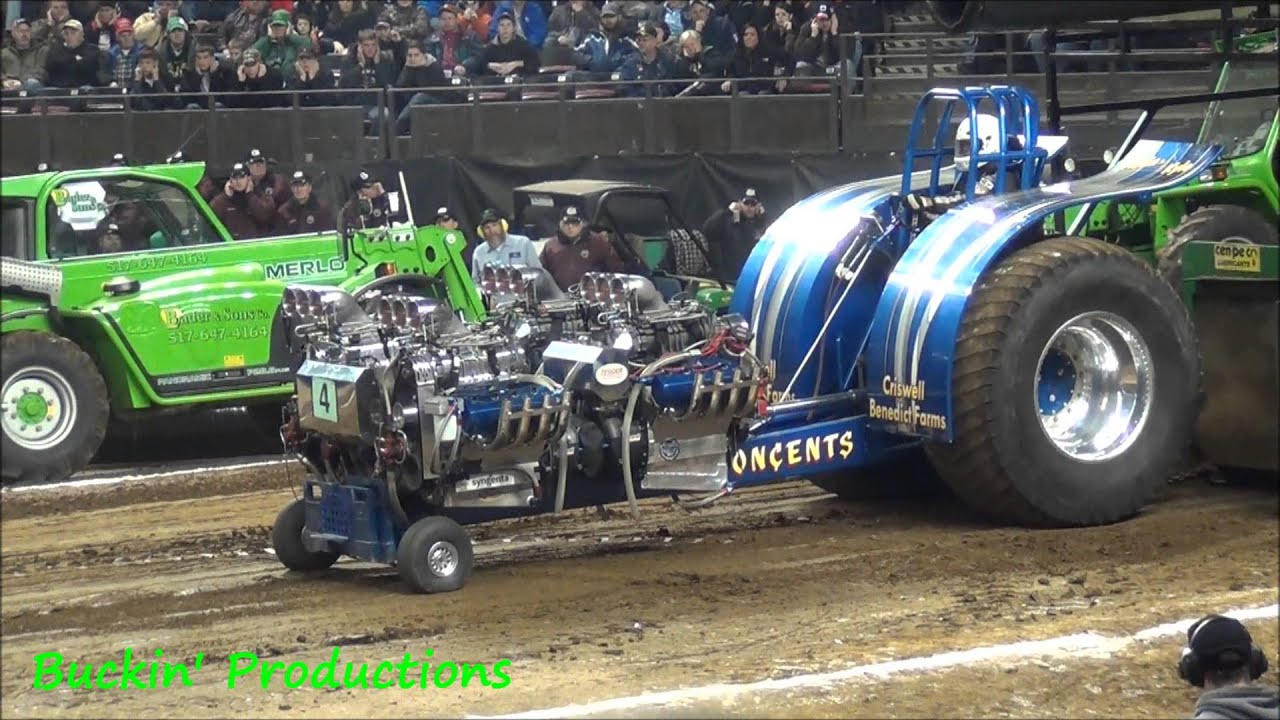 7,500lb Modified Tractors NFMS 2013 - YouTube