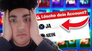 I HAVE BEEN 10,000€ FORTNITE ACCOUNT! (GOES WRONG)