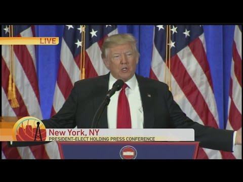 Donald Trump News Conference