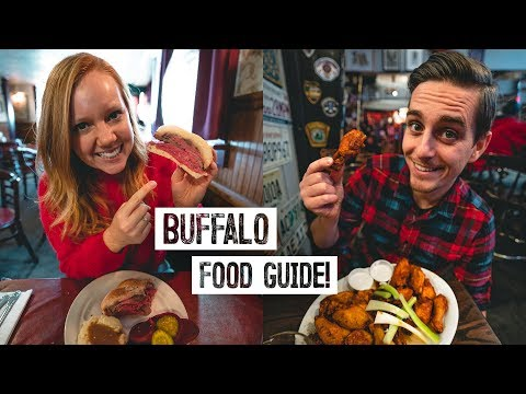 Best Buffalo Wings IN THE WORLD!? - Buffalo, NY Food Guide: Beef on Weck, Peanut Sticks and MORE! Travel Guide Videos