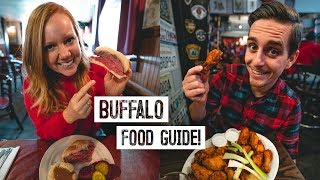 Best Buffalo Wings IN THE WORLD!? - Buffalo, NY Food Guide: Beef on Weck, Peanut Sticks and MORE!