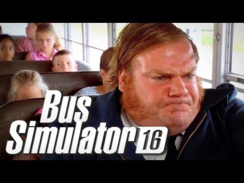 I'M THE CRAZIEST BUS DRIVER EVER - Bus Sim 16 |